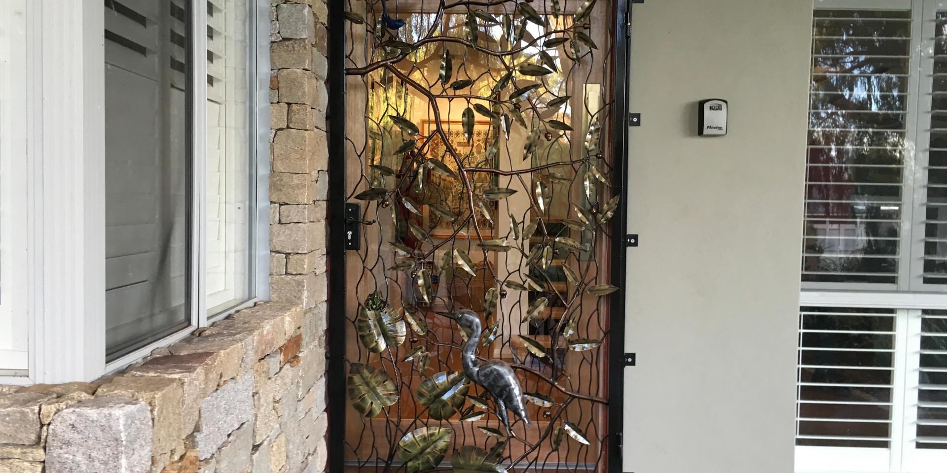Sculptured doors