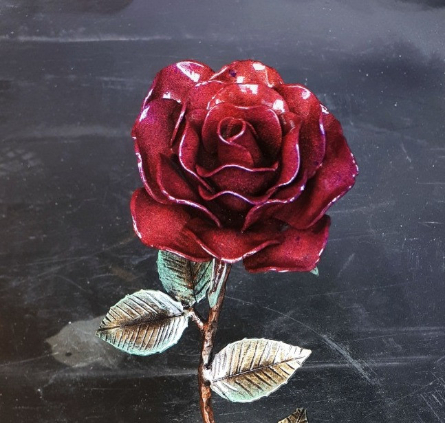 Year 4: Flowers - The Sculptured Single Rose