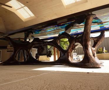 Year 26: Art - Patio table