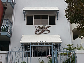 Entry statements in artistic ironwork