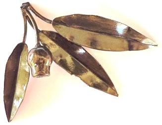 Eucalyptus 3 leaf & gumnut
