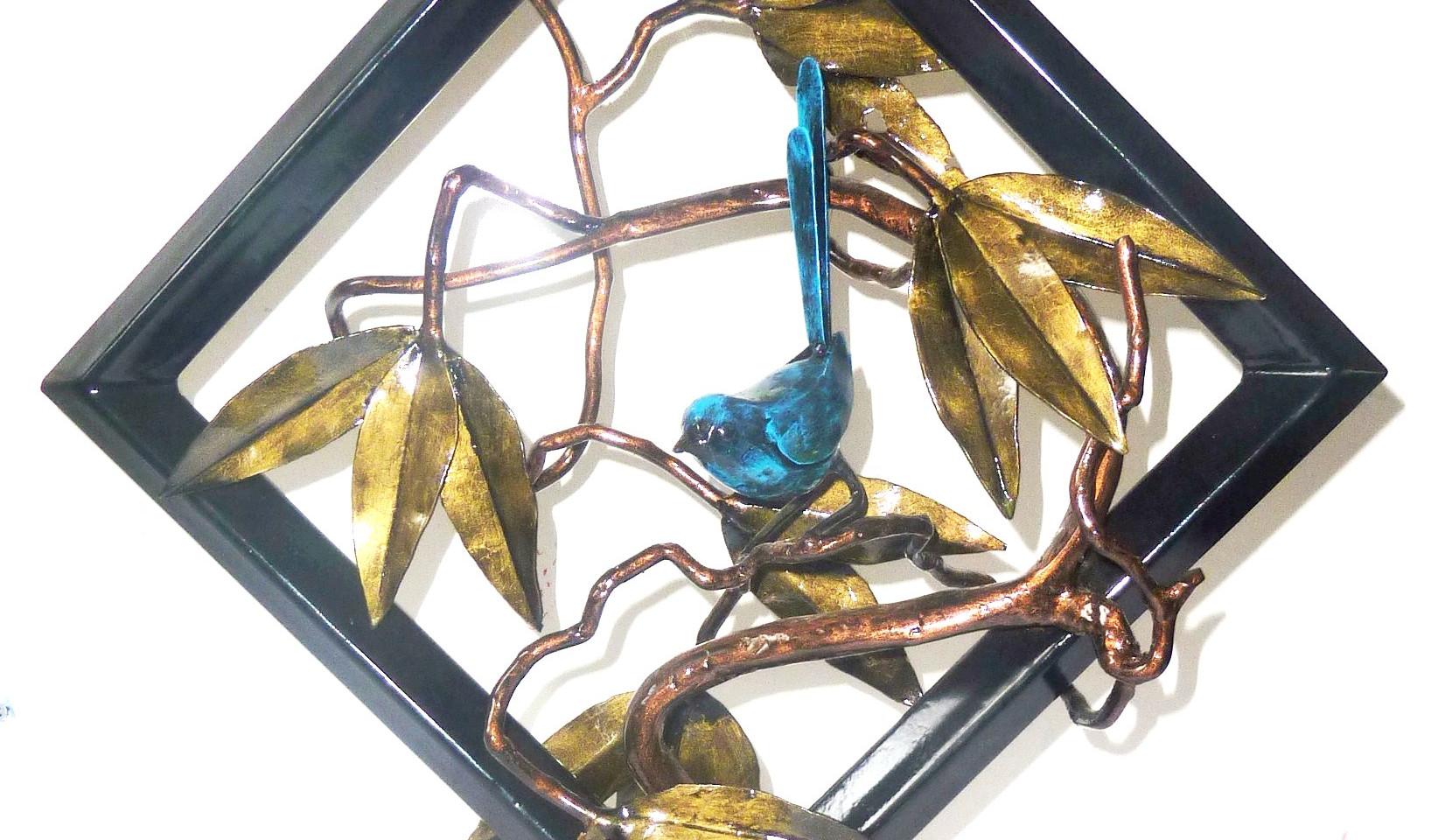 Year 60: Diamond - Diamond blue wren