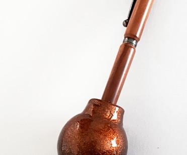 Year 7: Copper/Deskset - Single Gumnut Pen Holder