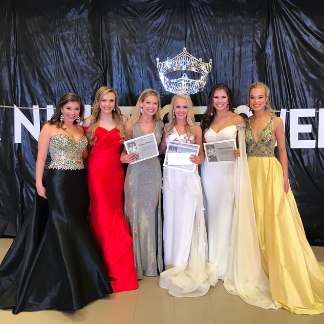 Miss Auburn Opelika Area Contestants