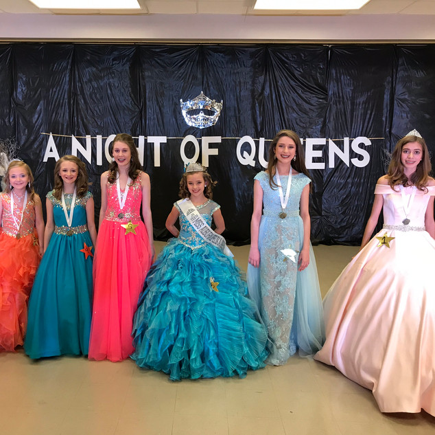 Jr Teen Miss Auburn Opelika Area Contestants