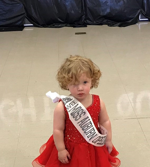 Wee Miss Auburn Opelika Area 2019