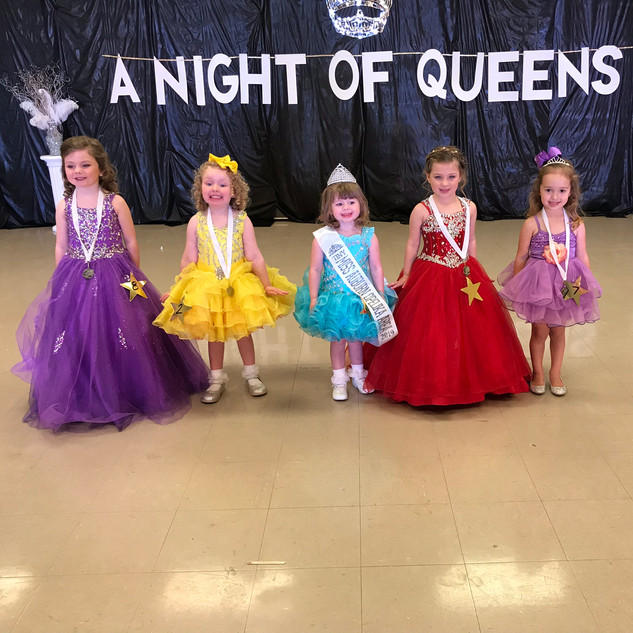 Tiny Miss Auburn Opelika Area Contestants