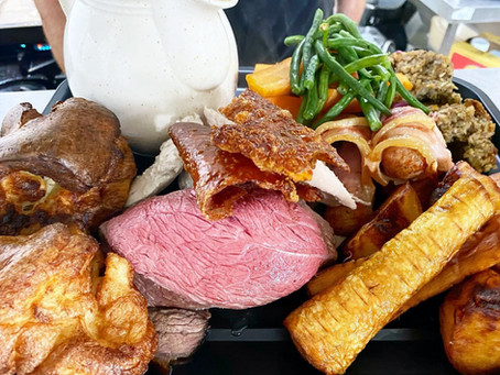 Possibly the Best Sunday Lunch on the Island!
