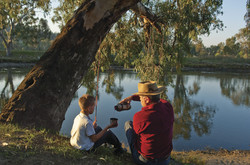 Murray River fishing