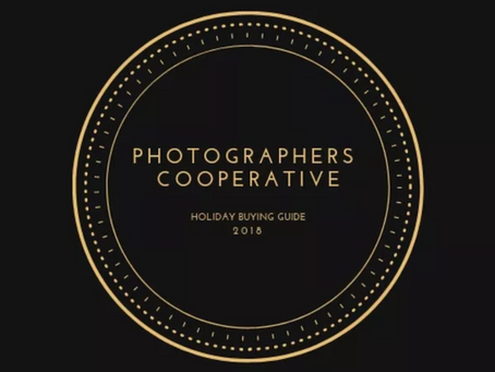 Photography Holiday Gift Buying Guide 2018