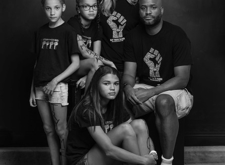 Bryan, Ashley, and Family - Black Lives Matter Project