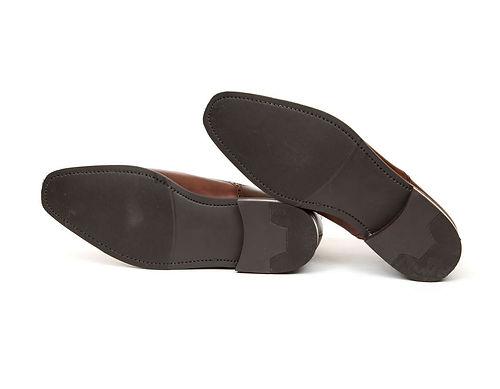 Пошив обуви. Кожаная подошва с профилактикой