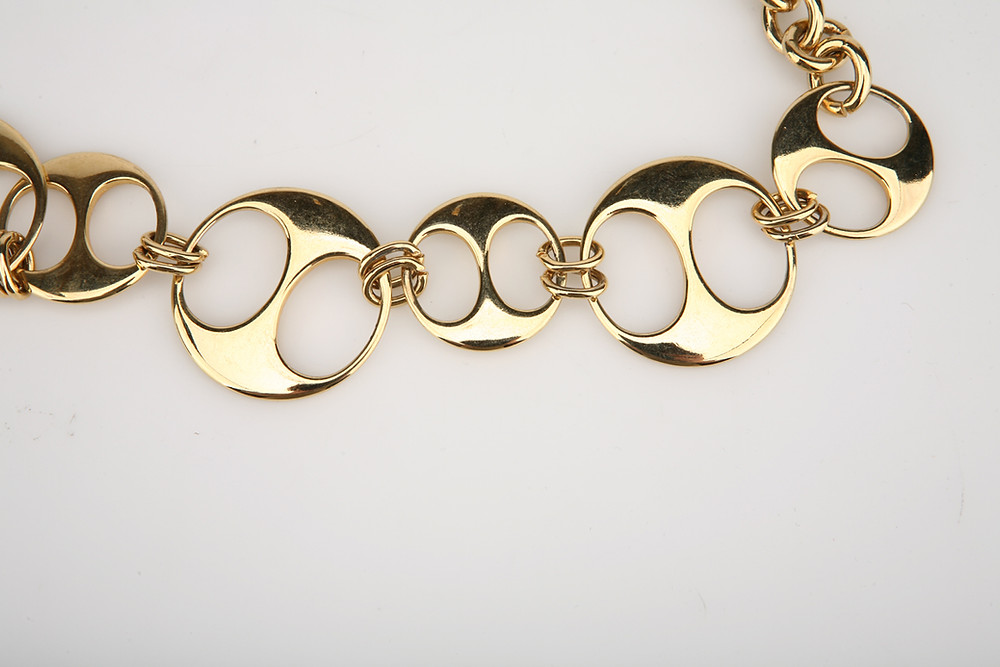 Yellow Gold Plated Necklace