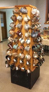 Greate Lansing Potters' Guild, mug tree