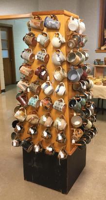 Greate Lansing Potters' Guild, mug tree