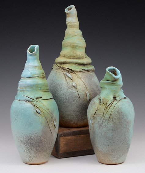 Hranilovich Soda-fired Bottles