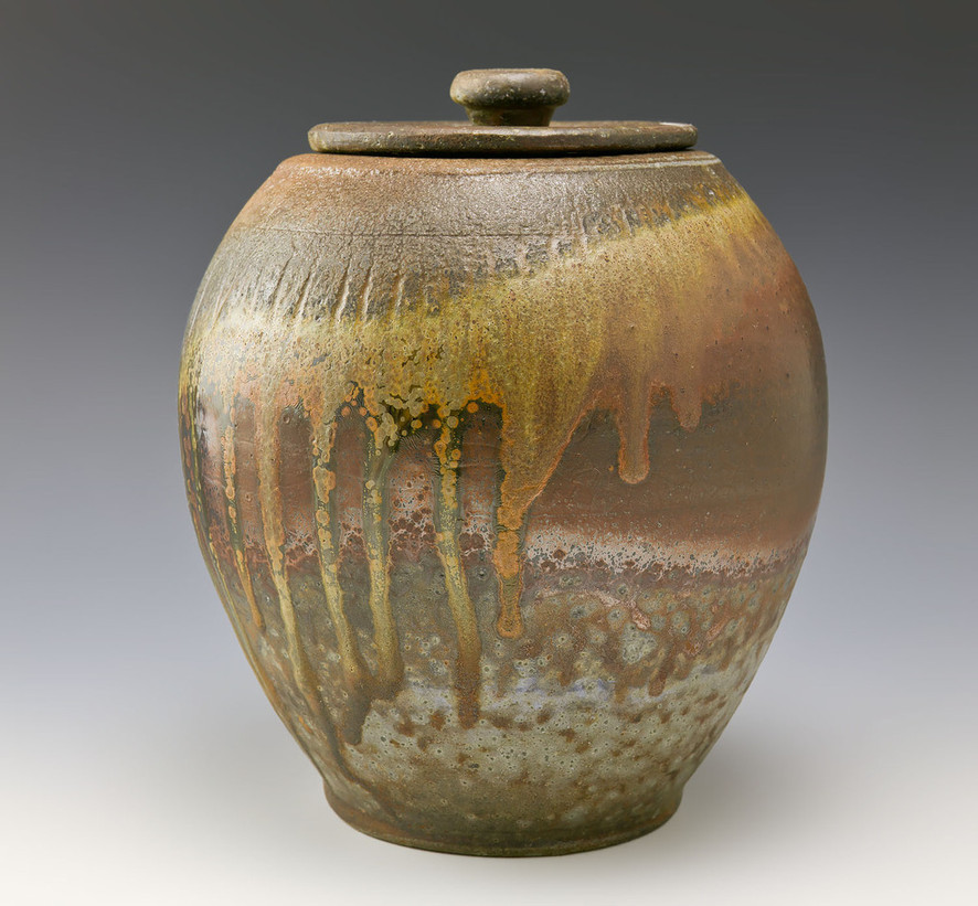 Liz Meyers wood-fired jar