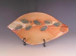 Barbara Hyman leaf plate