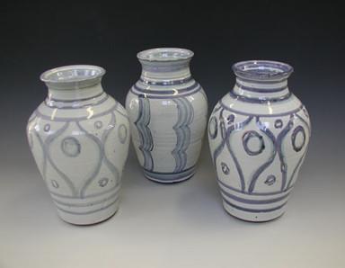 Monique Jost three vases