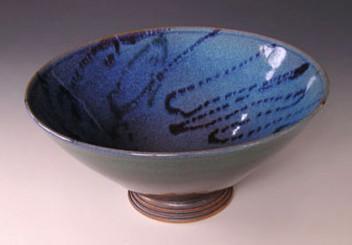 Margie Steinkamp blue bowl