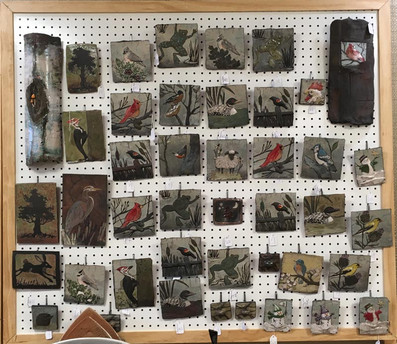 Greater Lansing Potters' Guild Sale, tiles