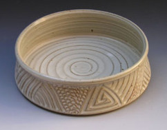 Joan Witter carved bowl