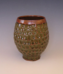 Margie Steinkamp carved vase