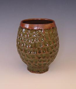 Margie Steinkamp carved vase