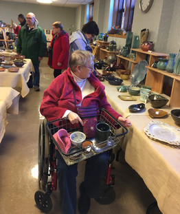 Greater Lansing Potters' Guild, sale