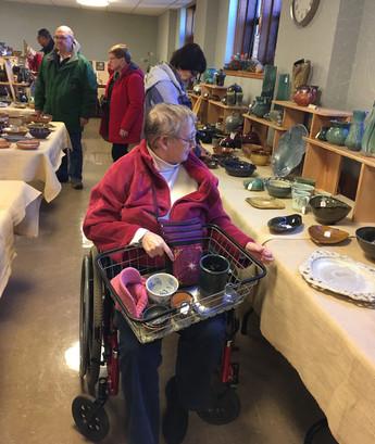 Greater Lansing Potters' Guild, sale