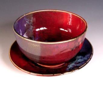 Tina Oxer red bowl