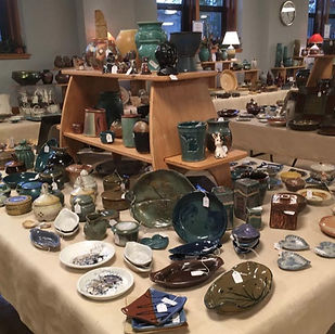Greater Lansing Potters' Guild,sale.jpg