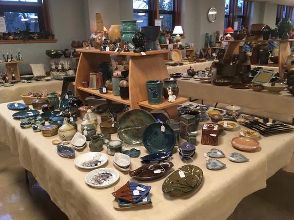 Greater Lansing Potters' Guild Sale