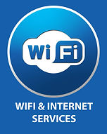 BLUCOM Pillar Sign Wifi & Internet Servi