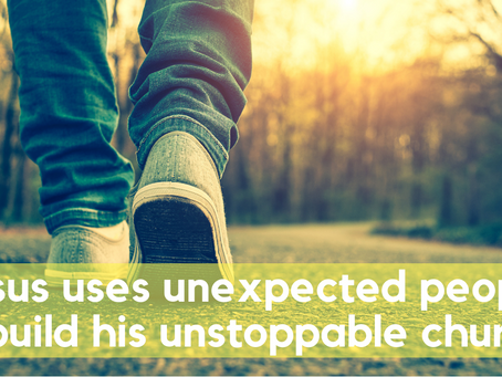 "Did you know the church is ""Unstoppable""?"
