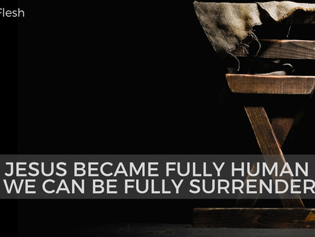 New SermonCast: Fully Human & Fully Surrendered