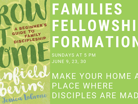 Grow at Home | 3 Weeks of Family Discipleship in June