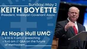 Keith Boyette Preaching // May 2