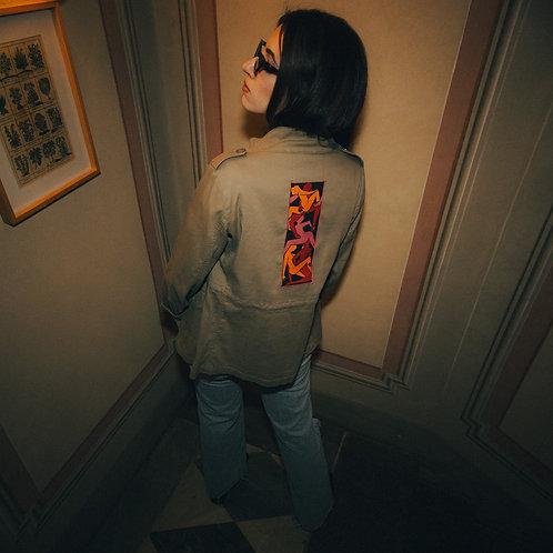 """Empilées"" military jacket"