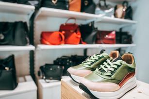 Sneaker vitello multicolor.
