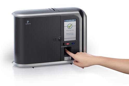 relogio de ponto biometrico - resolução
