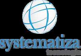 Logotipo Systematiza Relógio Ponto