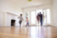 Excited Family Explore New Home On Movin