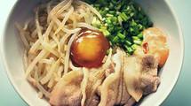 Pork & Bean-sprout's Rice Bowl. [KOREA]