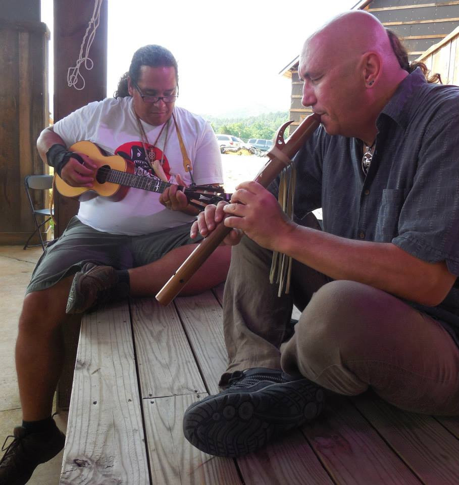 free jam with Keale, Flute Tree gathering, Tennessee