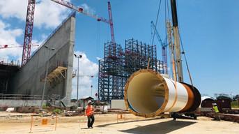 Steel pipe DN2500 PN25