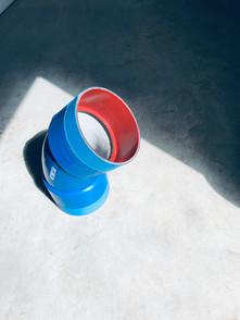 Coudes - Ciment int / PE à chaud ext