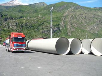 Tubes DN2500 PN25