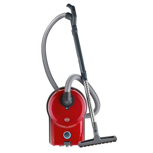 Sebo Airbelt D4 Red without Power Head, with Parquet Brush