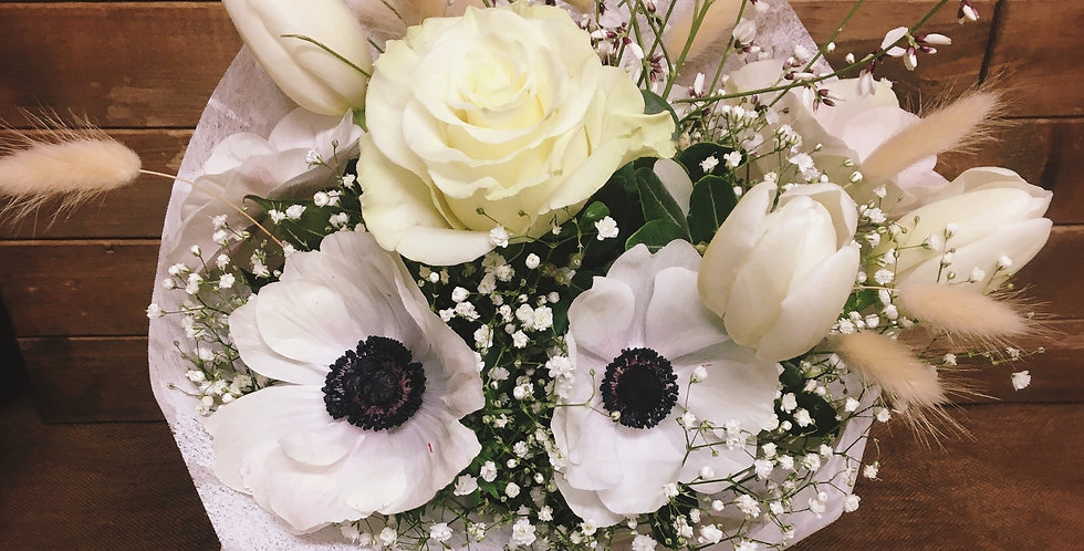 "Bouquet ""Elegance en Blanc"""